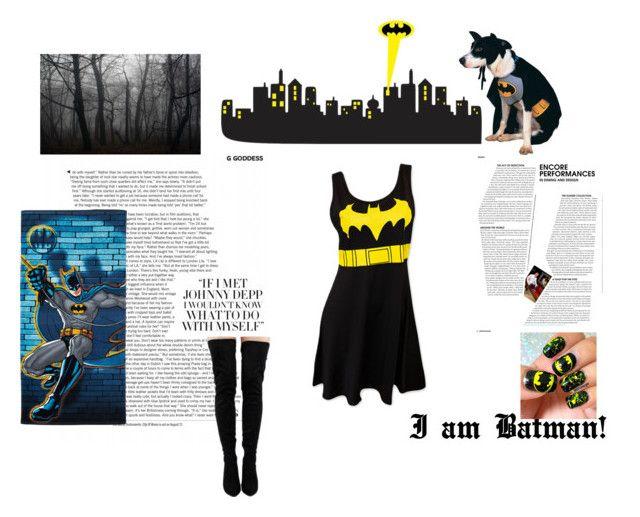 I am Batman by nefertiti001 on Polyvore