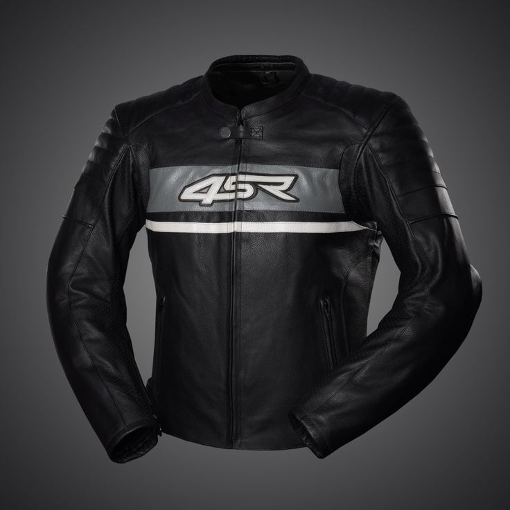 4SR Roadster II - Steel Grey leather jacket