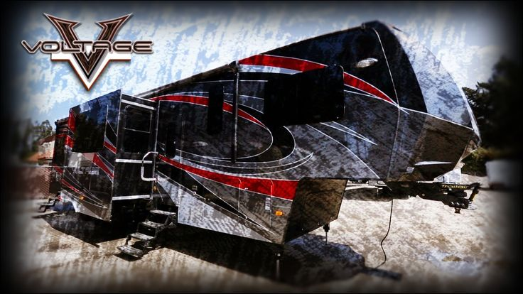 Voltage 5th Wheel toy Hauler for Sale