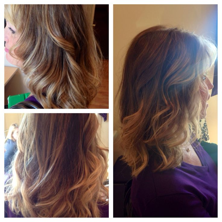 Ombré. Warm brown to Carmel blonde | Hair, Nails & Make~up ...