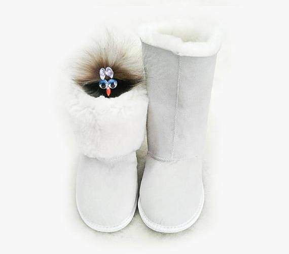 These magic sheepskin boots are so warm, soft and cozy that you do not want to take them off.  Sheepskin has wonderful properties. Chuni slippers, made of sheepskin, have many useful properties. In the wool of sheep, there is an enzyme lanolin, which is secreted by their subcutaneous glands. This substance slows the aging process of the body, improves blood circulation and speeds up the healing process of bruises and wounds. The enzyme ensures free breathing of the entire surface of the…