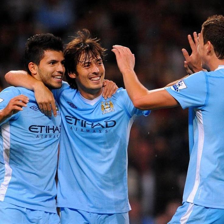 Sergio Aguero & David Silva, Manchester City
