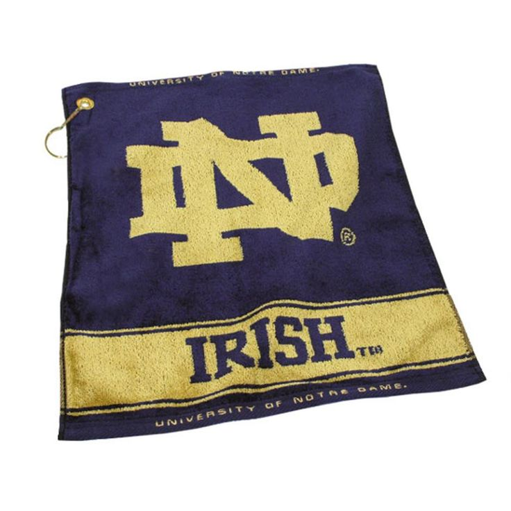 Notre Dame Fighting Irish NCAA Woven Golf Towel