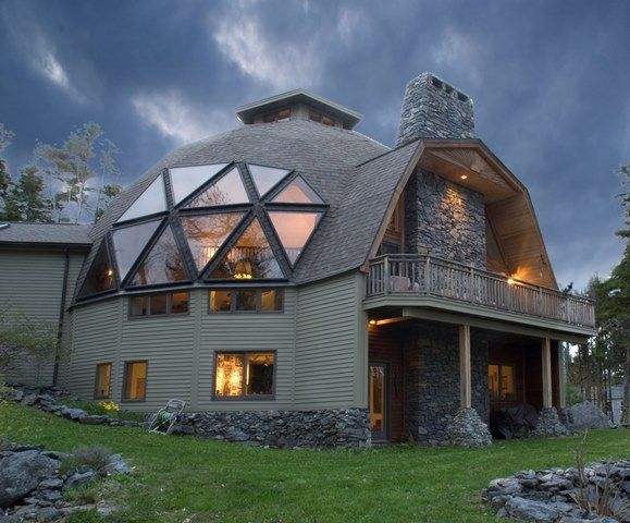1307 best images about spherical geodesic dome house for Concrete home kits