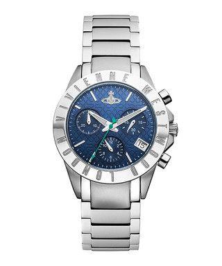 Westminster silver-tone & navy watch Sale - Vivienne Westwood Sale