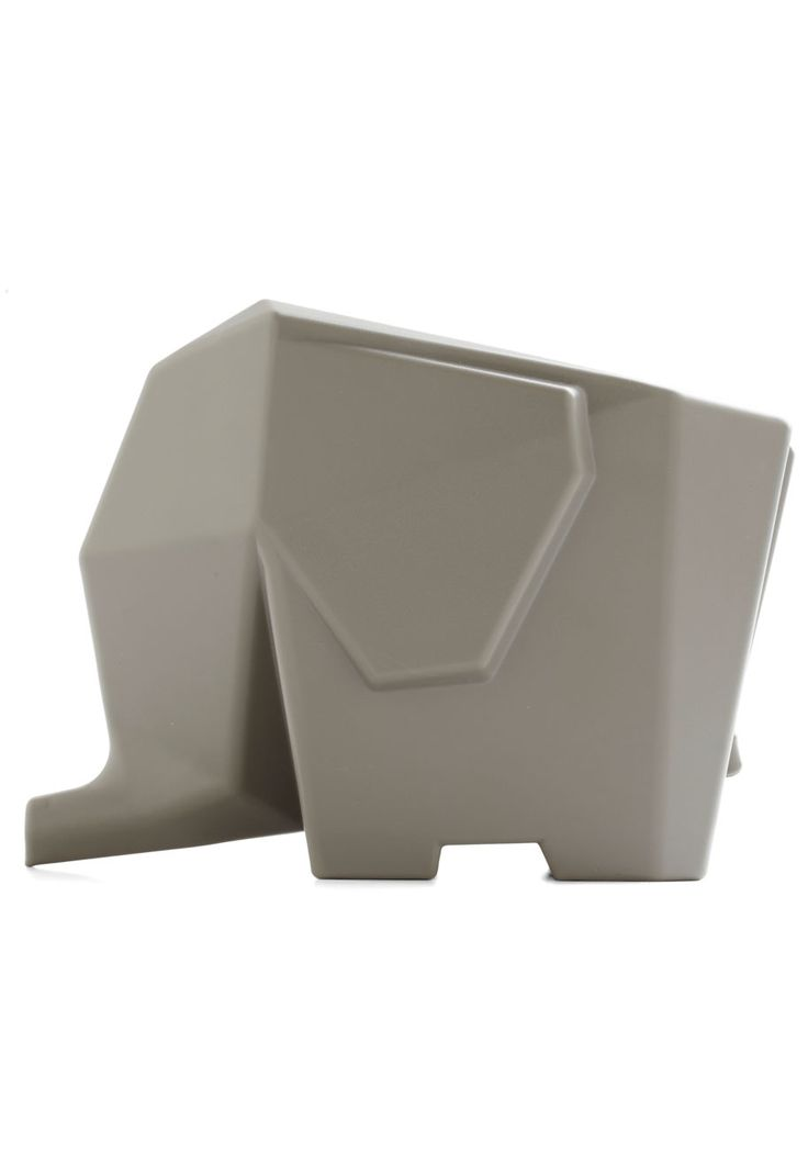 It's a Wild World Caddy. With this adorable elephant caddy, you can keep your kitchen or bathroom clean, chic, and cleverly organized! #grey #wedding #modcloth