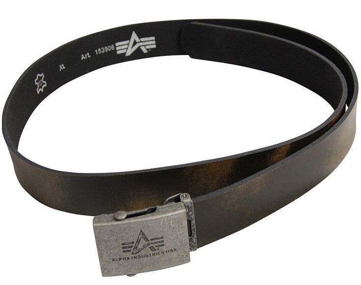 Ремінь Camo Leather Belt Alpha Industries (коричневий)  Наявність: під замовлення  Ціна: 34 $