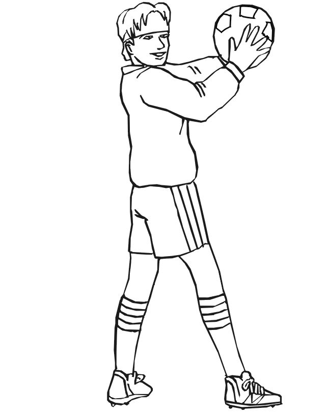 froggy plays soccer coloring pages - photo#46