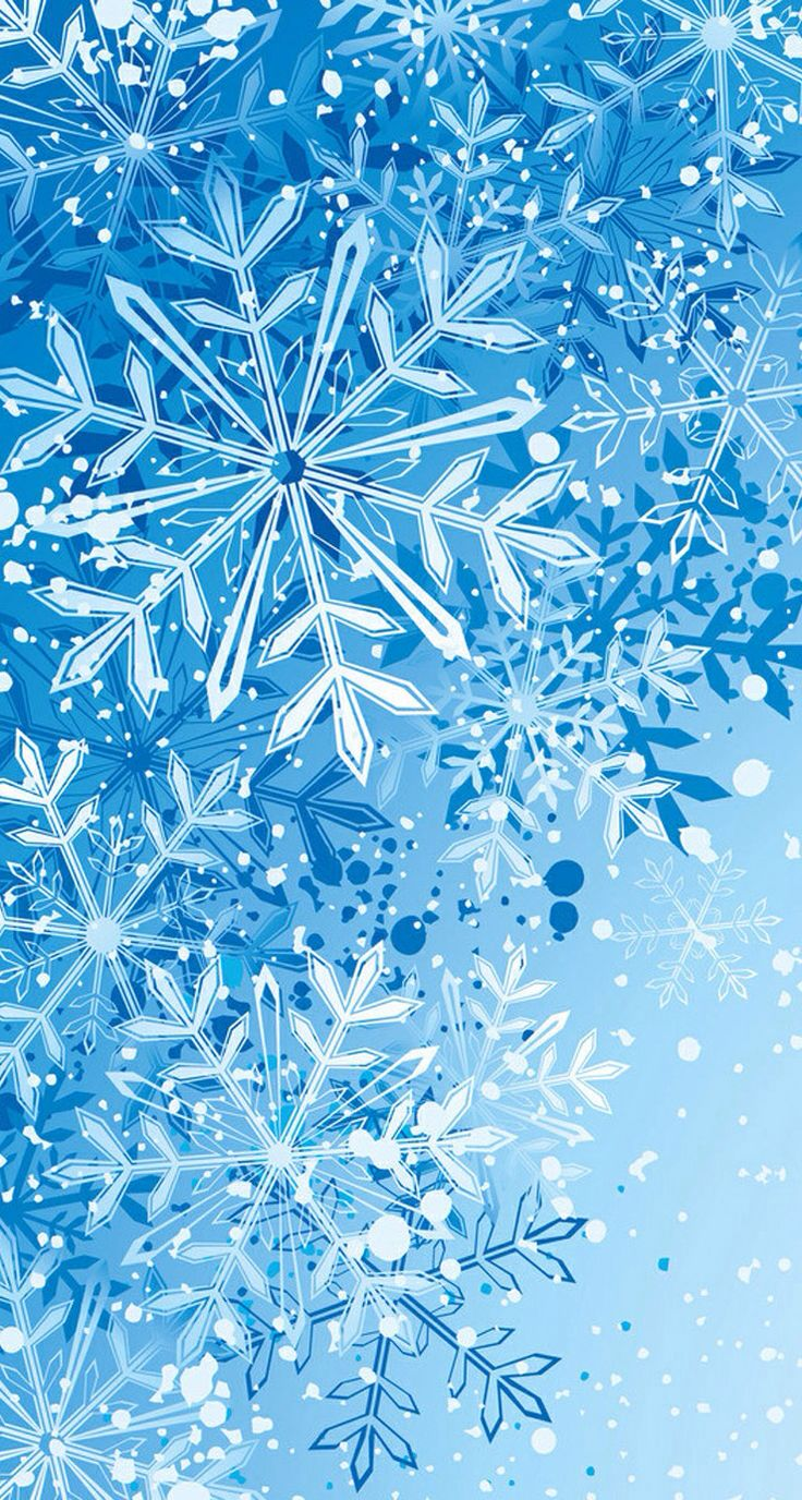 Snowflake wallpaper Snowflake wallpaper, Winter