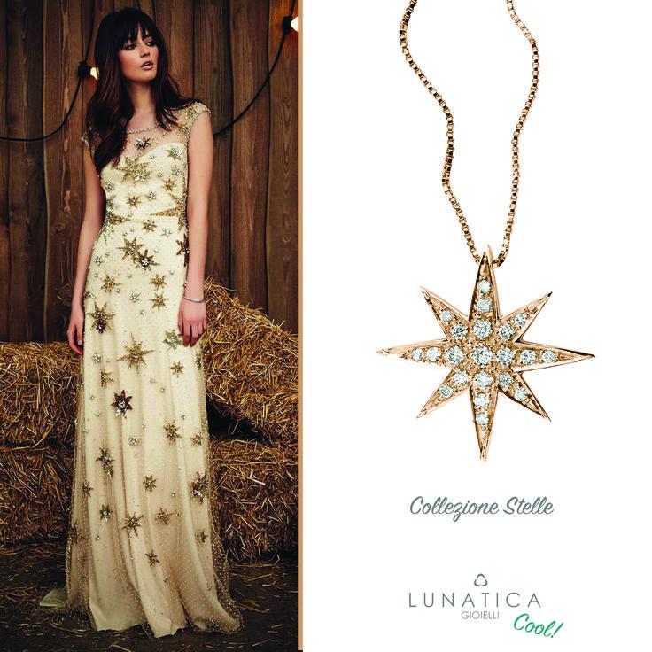 #lunatica #lunaticacool #cool #star #starcollection #roma #rome #starburst #style #glam #fashion #jewellery #italianjewellery #rose  #pinkgold #18kt #diamonds #handmade #madeinitaly #stylish #fashionista #ootd #cute #accessories