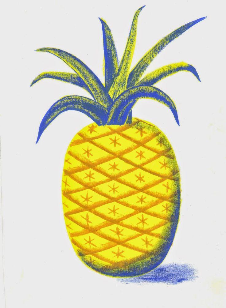 Pineapple number 2. Sophie Oiseau 2014