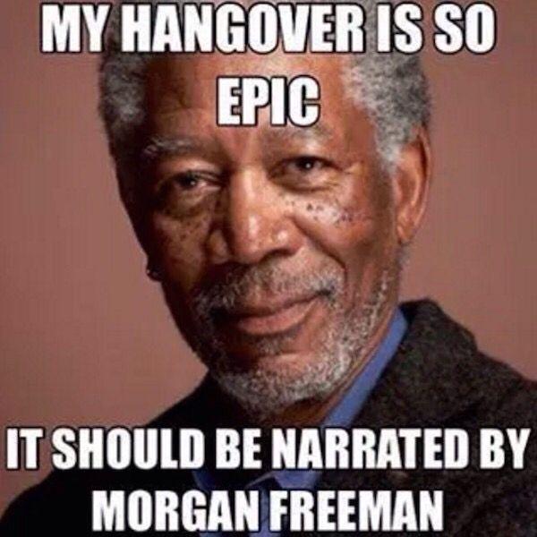 Life happens and narrated by Morgan freeman.