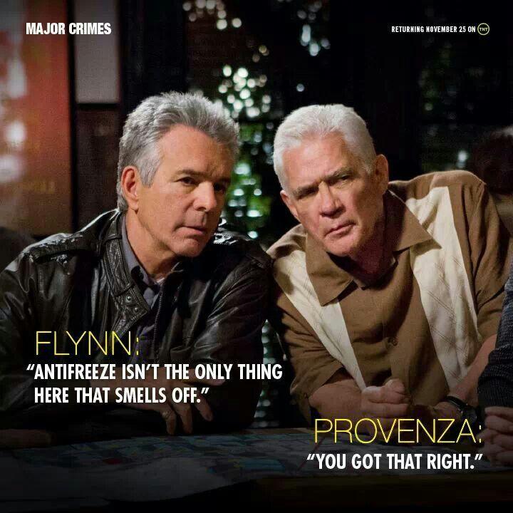 Major Crimes -Flynn & Provenza