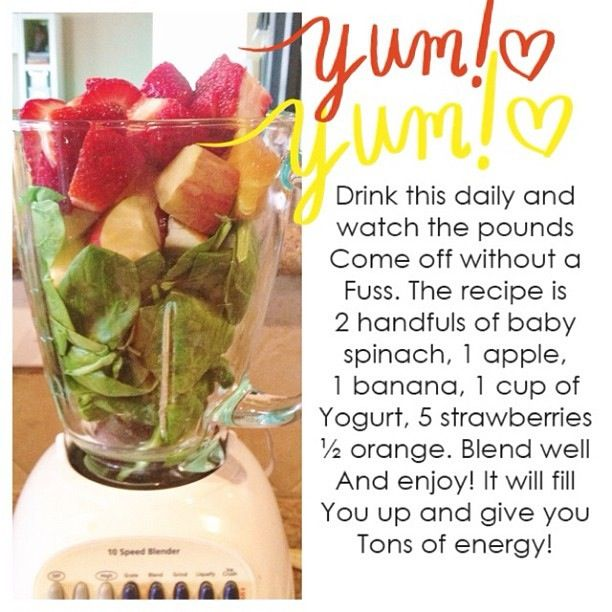Weight Loss Smoothie Packed With Vitamins!