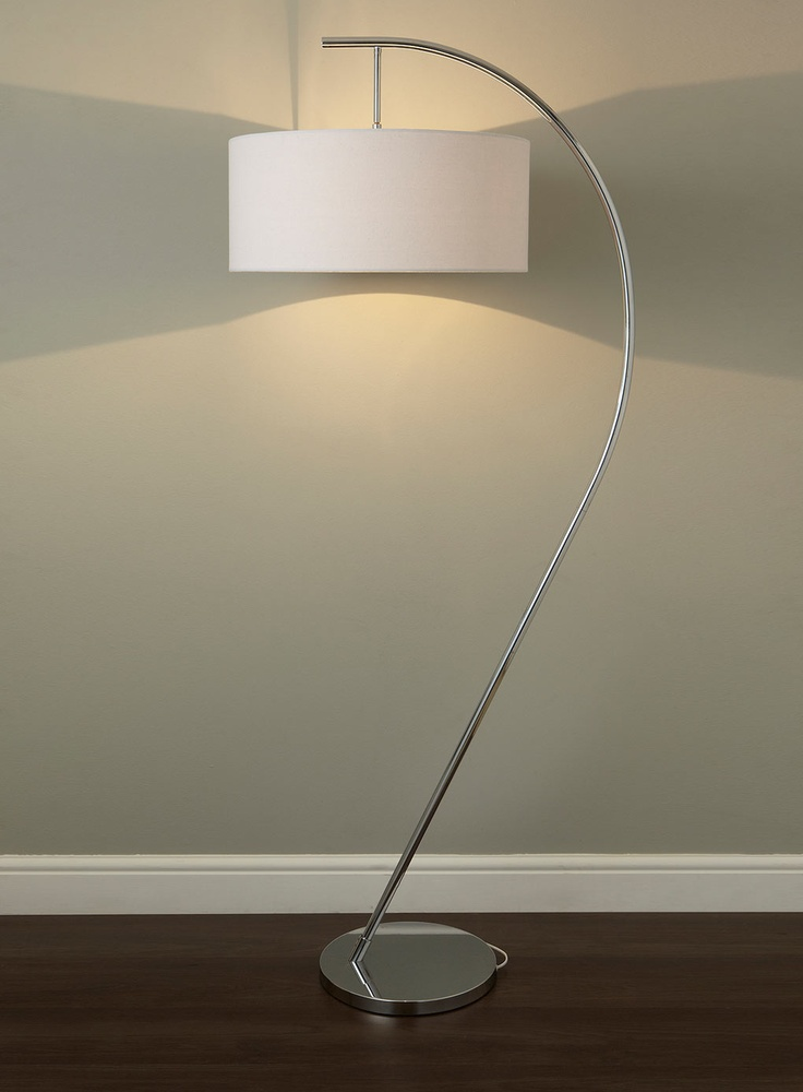 Chrome Arch Floor Lamp Future Vancouver Digs Pinterest