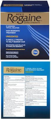 Rogaine Extra Strength for Men Rogaine for Men Hair Regrowth Treatment, Original Unscented, 2 Oz, Three Month Supply $37.99
