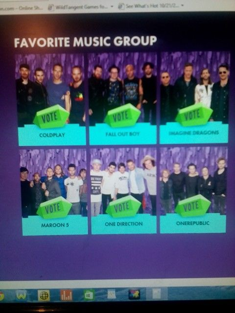 Vote your freakin favorites for the kids choice awards >>>>>>>>>>>>>>>>one direction nowwwww!!!!!!!!!!!!!!!!!!!!!!!