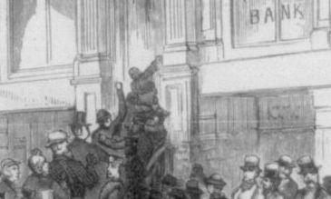 Panic of 1873 http://en.wikipedia.org/wiki/Panic_of_1873