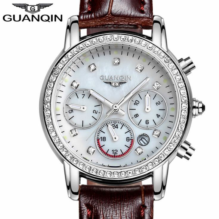 relogio feminino 2017 GUANQIN Watches Women Luxury Brand Luminous Date Clock Ladies Fashion Casual Leather Strap Quartz Watch     Tag a friend who would love this!     FREE Shipping Worldwide     Buy one here---> https://shoppingafter.com/products/relogio-feminino-2017-guanqin-watches-women-luxury-brand-luminous-date-clock-ladies-fashion-casual-leather-strap-quartz-watch/