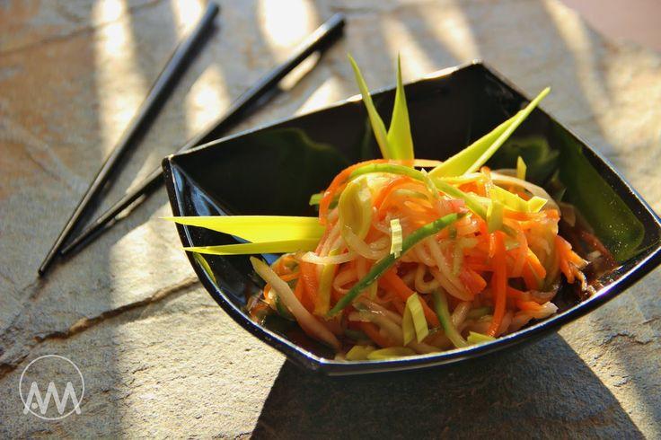 V kuchyni vždy otevřeno ...: Asijský zeleninový salát