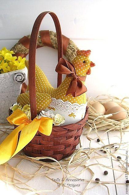 Солнечная Курочка - курочка,пасхальная курочка,курочка тильда,жёлтый,ярко-желтый