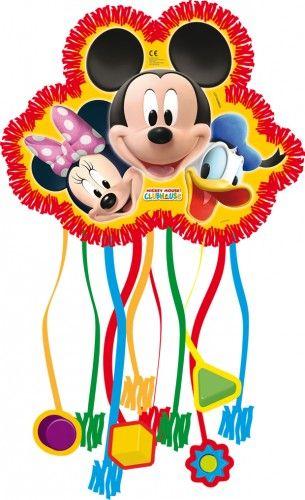 Piniata Myszka Miki Playfull.  Piniata daje możliwość stworzenia kreatywnej zabawy na przyjęciu dla dzieci.