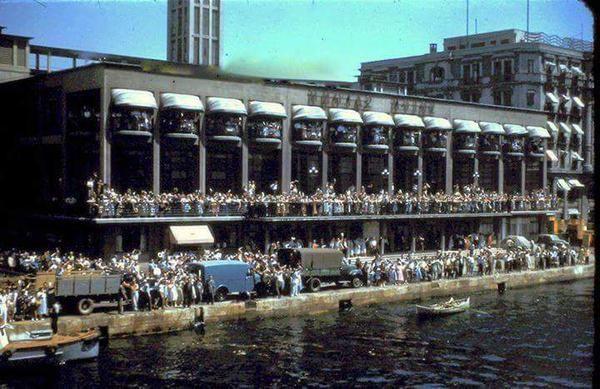 Dış Hatlar İskelesi #Karakoy (1950'ler) #istanlook #nostalji