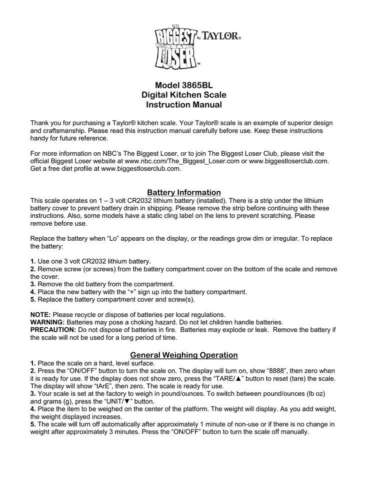 instruction manual example