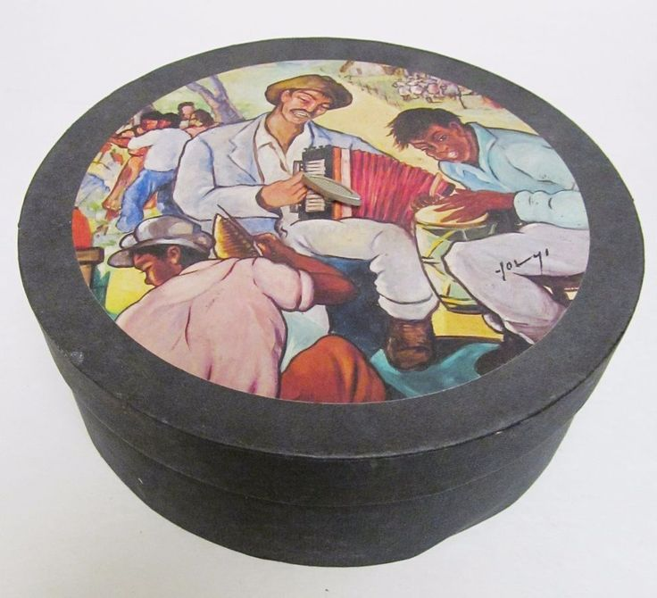 ARTE DE CAFE 100th Anniversary 4 Plate Dish Collection w Musical Box Yoryi Morel