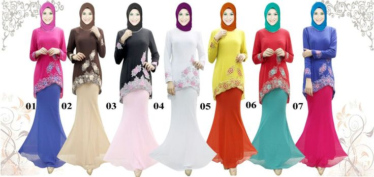 Baju Kurung by In Her Store Indonesia –Lollipop Series Material : Chiffon Cerutti Size : XS - S – M – L – XL Retail Price : NOW Rp 325rb/pc (Rm 102) Reseler Price : Rp 300rb/pc (min.3pcs, mix size & colours allowed)  PIN : 56EC4B97 Line : inherstore
