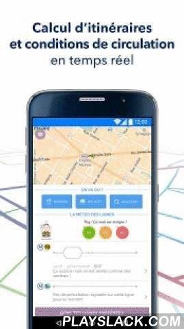 Mappy City - Transports Paris  Android App - playslack.com ,  MappyCity te permet de calculer tes itinéraires pour te déplacer sur Paris et être informé en temps réel sur les conditions de circulation.• Trajets :Découvre les meilleurs itinéraires dans tous les modes de transport : métro, RER, tramway, bus, Vélib', piéton, taxi.• Stations à proximité :Repère sur une carte toutes les stations de transports en commun à proximité avec les prochains horaires de passage, et pour le Vélib' le…