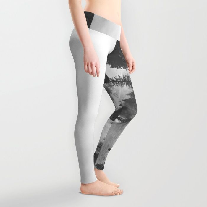 Ghostly Leggings by Mixed Imagery | Society6