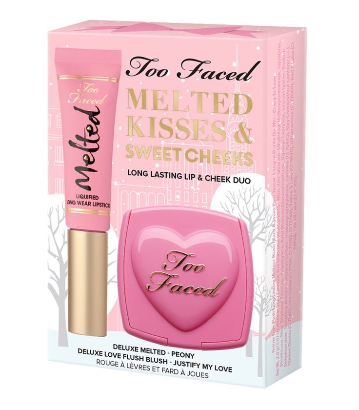 Too Faced Holiday 2016 Palettes & Gift Sets | Too Faced Melted Kisses & Sweet Cheeks $15