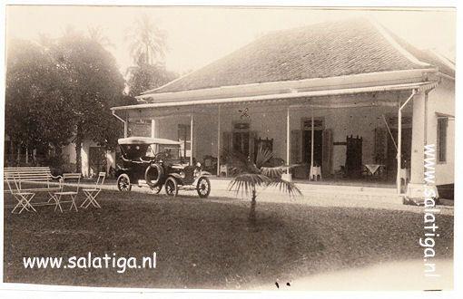 Indisch Huis aan de Toentangseweg Salatiga nu Jl Diponegoro