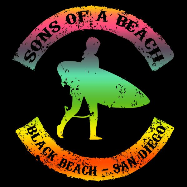 SONS OF A BEACH BLACK BEACH