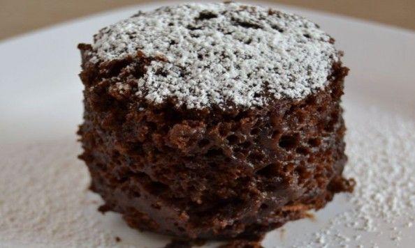 Recepty:+Rychlý+čokoládový+dortík+z+hrníčku