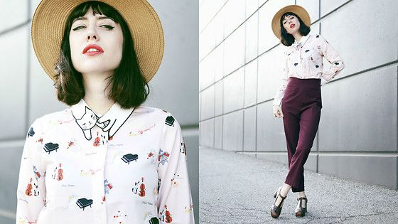 Get this look: http://lb.nu/look/8171777  More looks by Amy Roiland: http://lb.nu/afashionnerd  Items in this look:  Miss Patina Blouse   #retro #romantic #vintage #misspatina