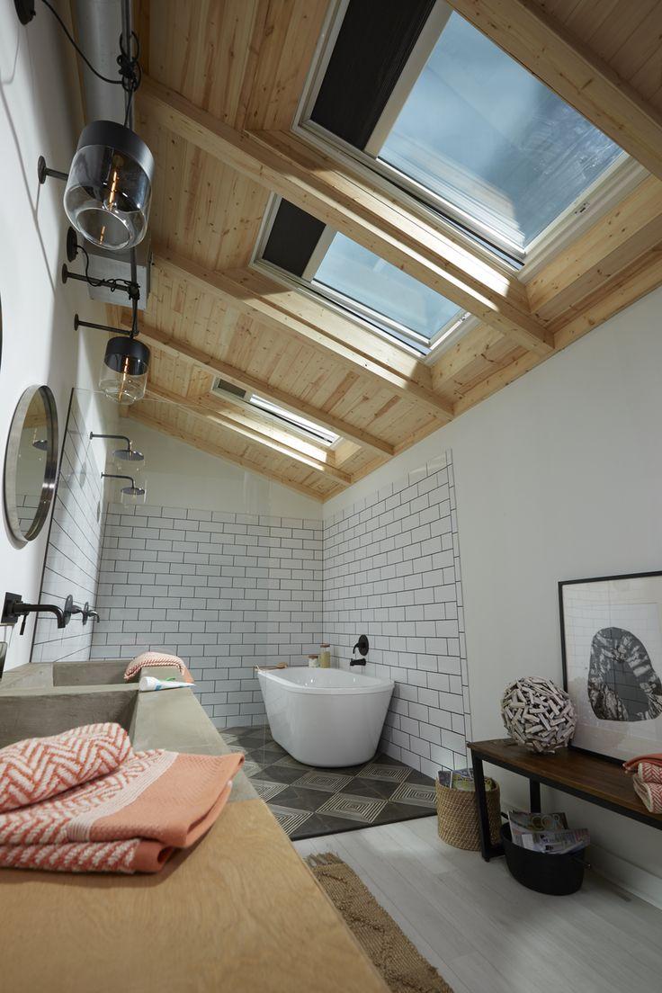 15 best Bien amenager une salle de bain sous les combles images on ...