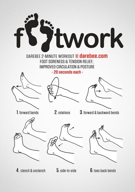 A few ways to workout those feet! #Fitness #Workout #FootCare