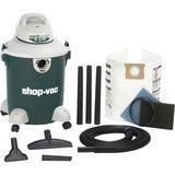 Shop-Vac - 10 Gallon Quiet Plus Wet/Dry Vacuum Cleaner - Green