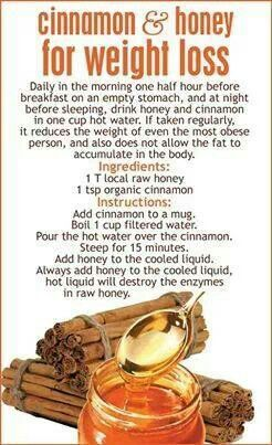 Not sure if this works for weight loss, but the honey  cinnemon do have lots of health benefits.
