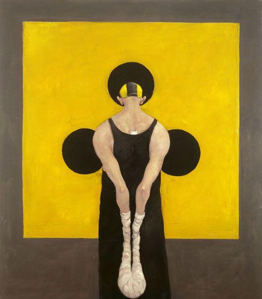 "Danish painter Michael Kvium ""Art Me II"" 1994"
