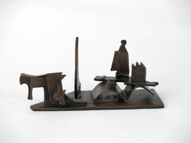 """""""Balance 3"""" 2007 Bronze by Jimmy Rix"""