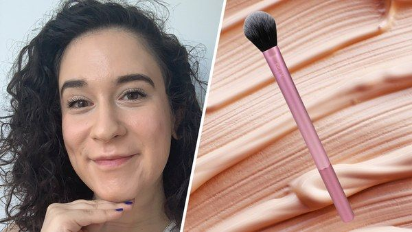 How To Get Foundation Out Of Clothes And Other Stained Fabrics Highlighter Brush How To Apply Foundation Long Lasting Makeup