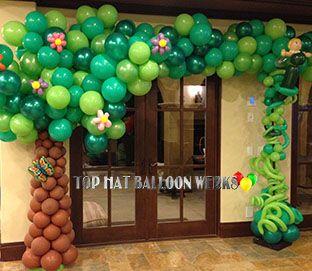 Balloon Tree Sculpture
