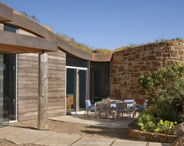 Attractive Earth Sheltered Homes Dani Ridge House Amazing Pictures