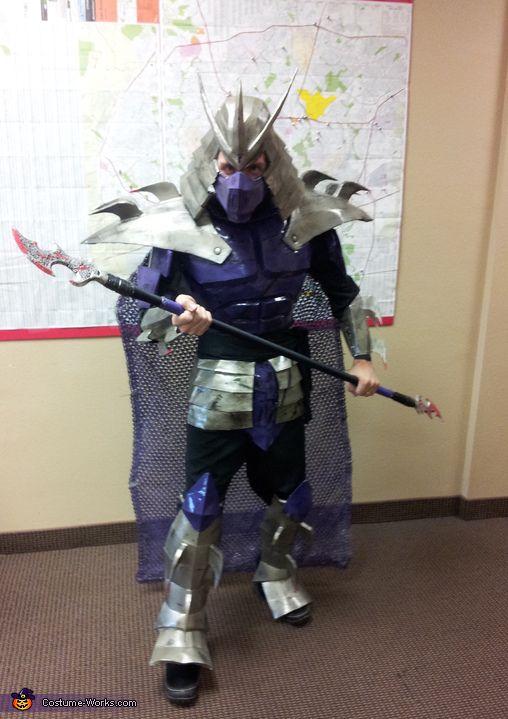 Coolest DIY TMNT Shredder Costume
