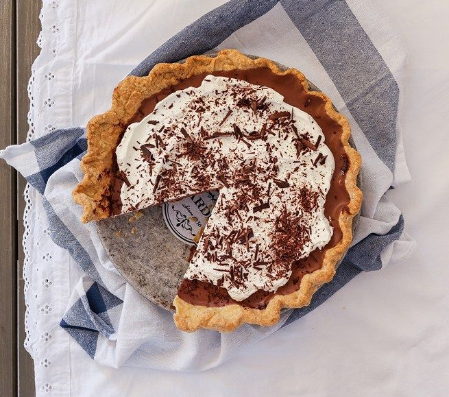 Chocolate Mousse Pie - Sweet Applepie #pie #chocolate #mousse