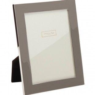 Contemporary Enamel Picture Frame - Rhino