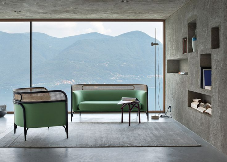 Gebrüder Thonet steam-bent furniture collection, proj.: GamFratesi